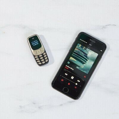 Elképesztő mini mobiltelefon zseniális ajándék férfiaknak