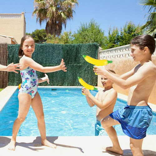 Vízipisztoly Banán gyerekeknek ötletes nyári ajándék
