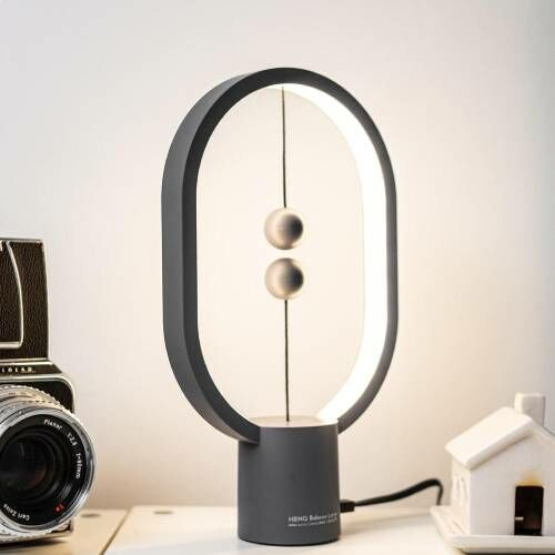 Innovatív balance lámpa a lakás dísze