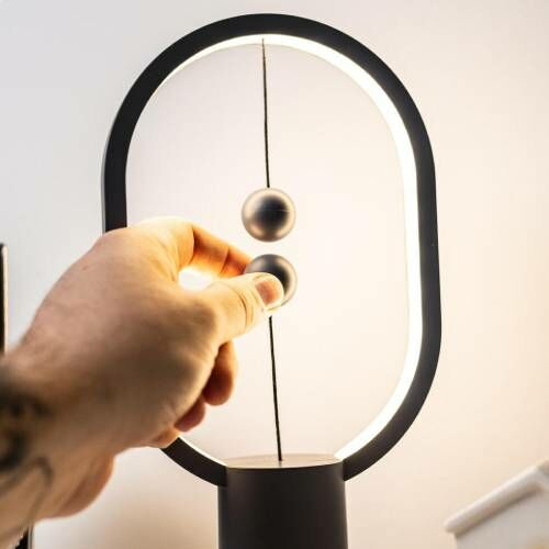 Bekapcsolt mágneskapcsolós balance lámpa