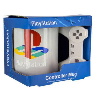 Eredeti PlayStation bögre dobozban