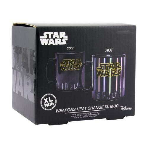 Star Wars licences színváltós fénykard bögre