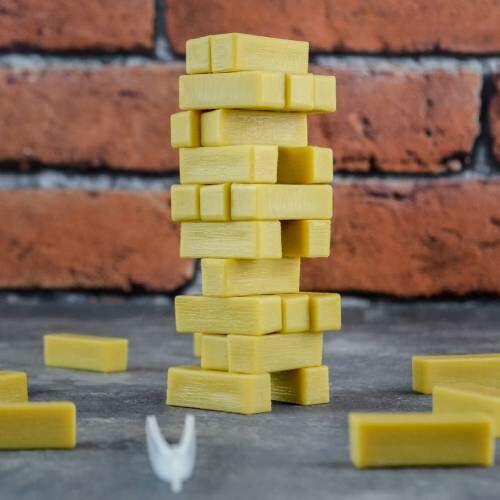 A Világ legkisebb Jenga játéka